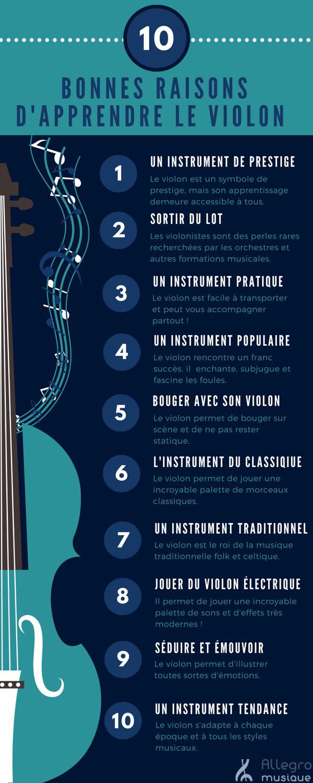 10 bonnes raisons de jouer du violon