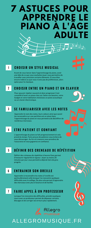 7 astuces pour apprendre le piano