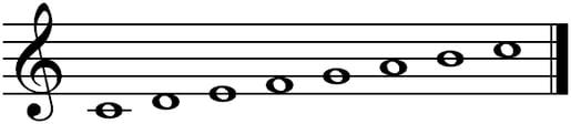 C-dur_notes