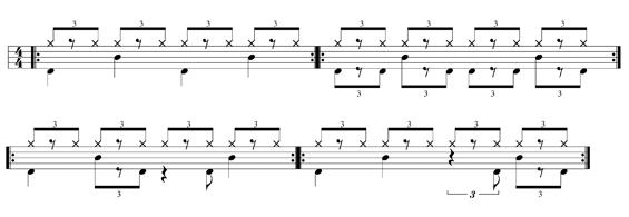jouer de la batterie jazz