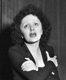 vibrato tonique et appuyé d'Edith Piaf