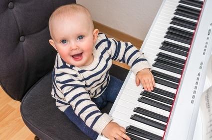 commencer la musique enfant