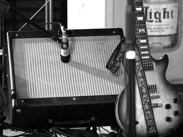 Fonctionnement d'un micro guitare