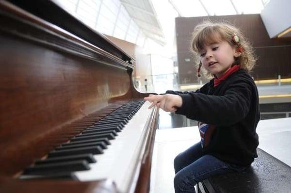 apprentissage du piano pour les enfants