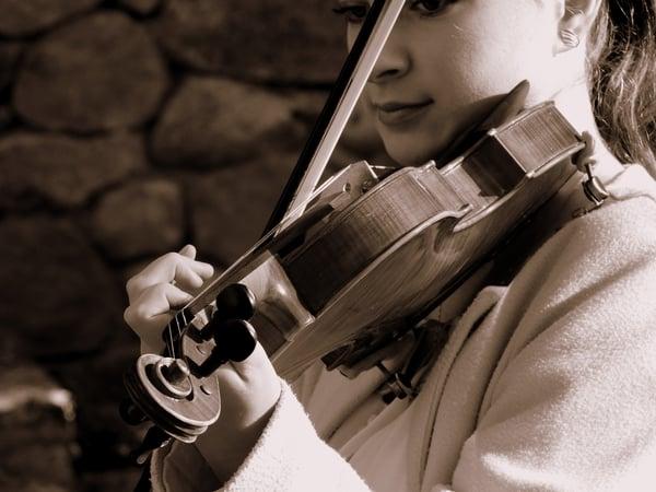 vibrato instrumental violon