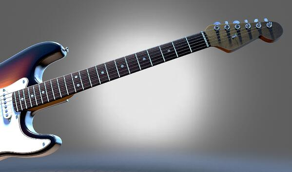 Jouer à la guitare électrique