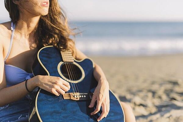 exercices de guitare en vacances