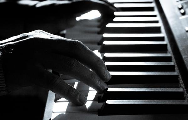jouer du piano