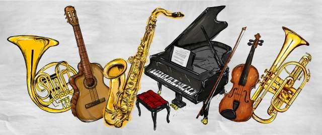 location d'un instrument de musique : guitare, piano, violon ou saxophone