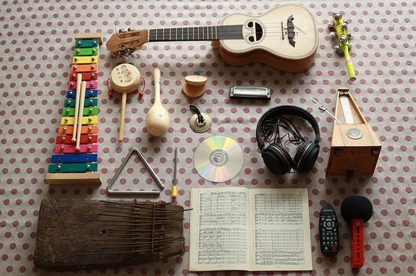 la musique et les enfants