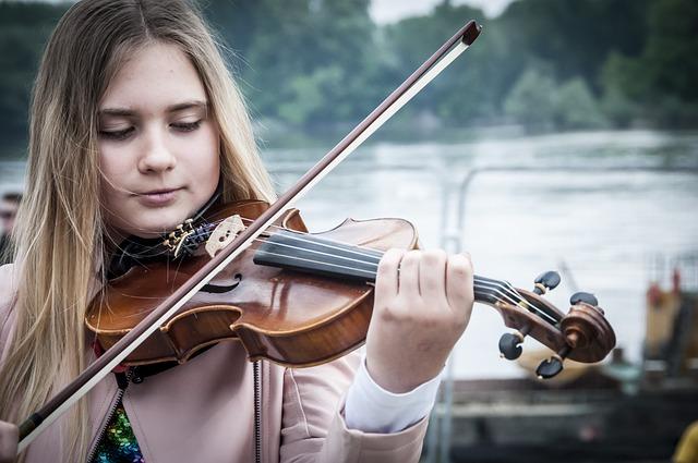 positionner un violon