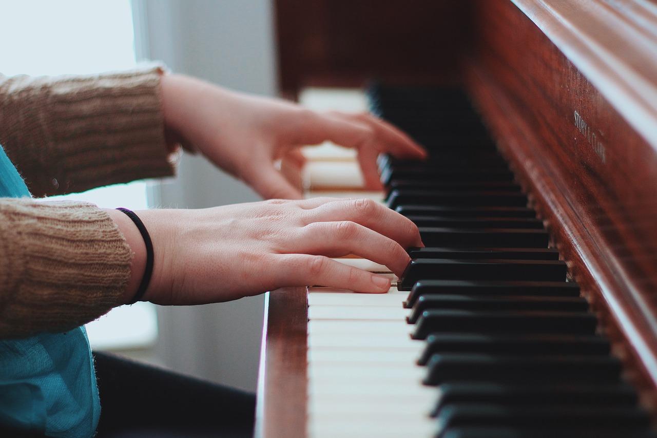 gammes au piano