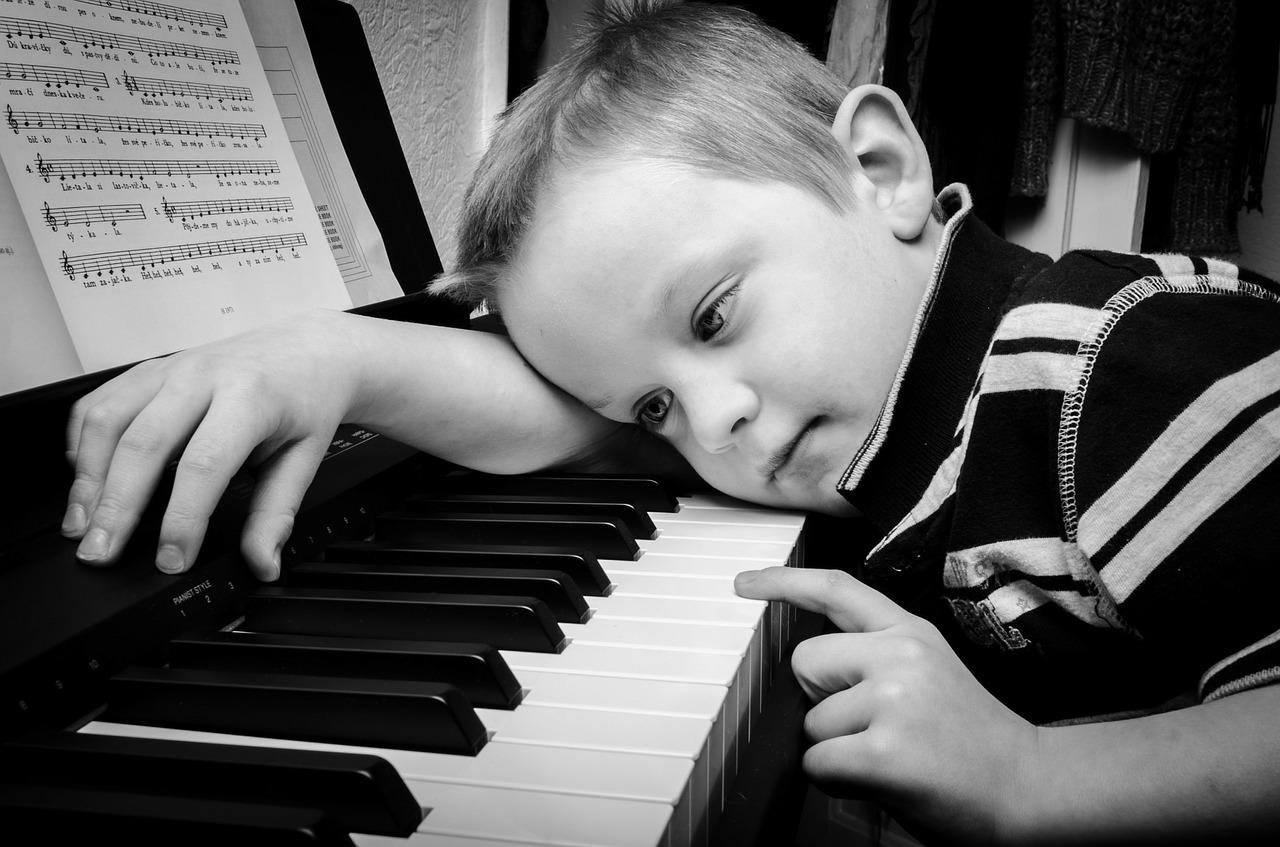 apprendre le piano enfant