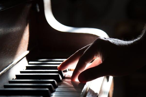 Objectif pendant les séances au piano