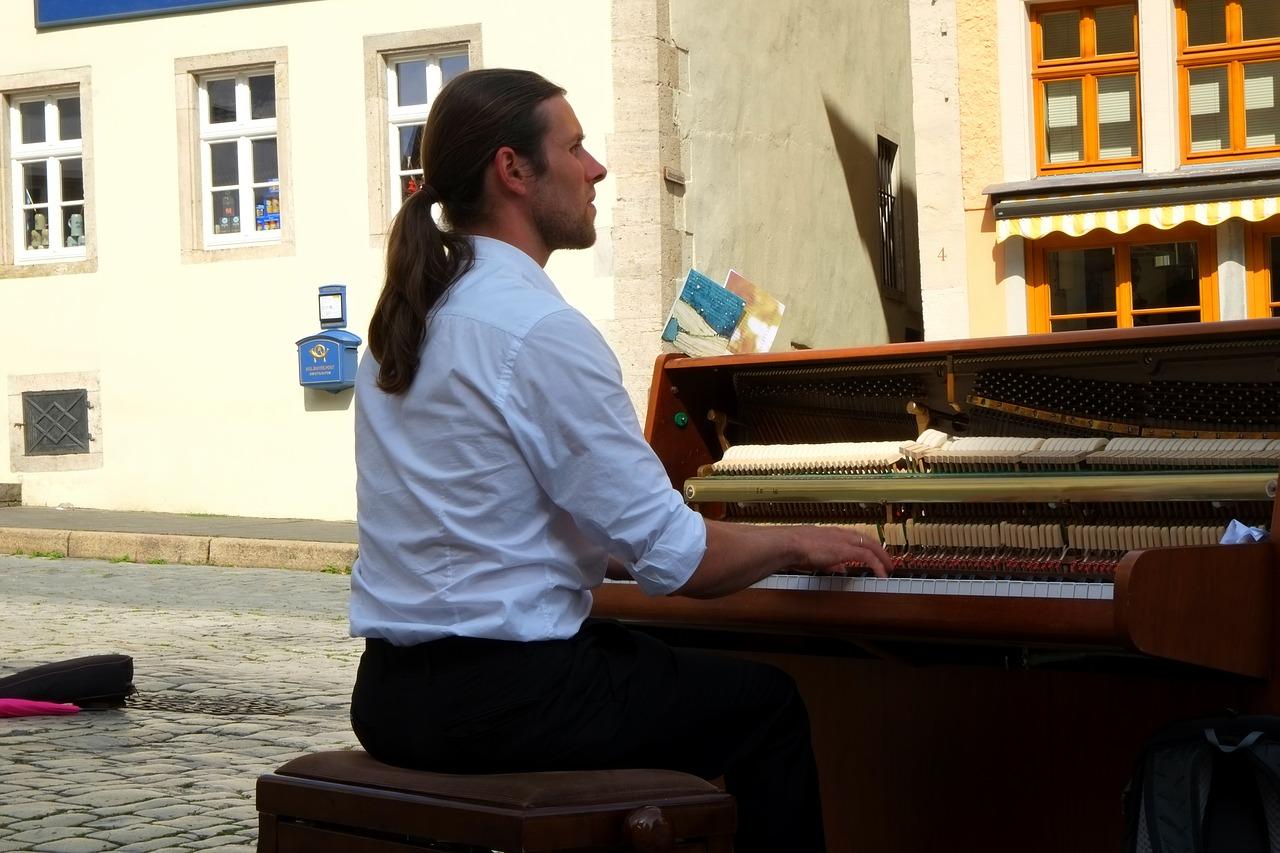 position piano