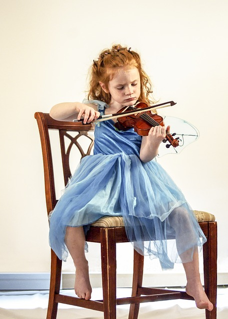 taille de violon pour petite fille