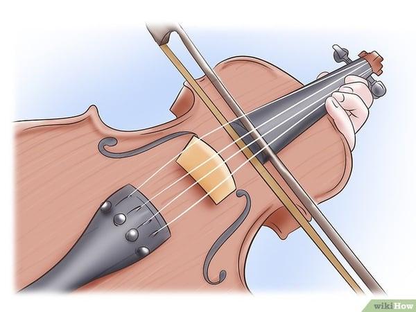 tenir correctement son archet et son violon