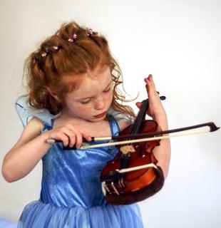 apprendre le violon enfant