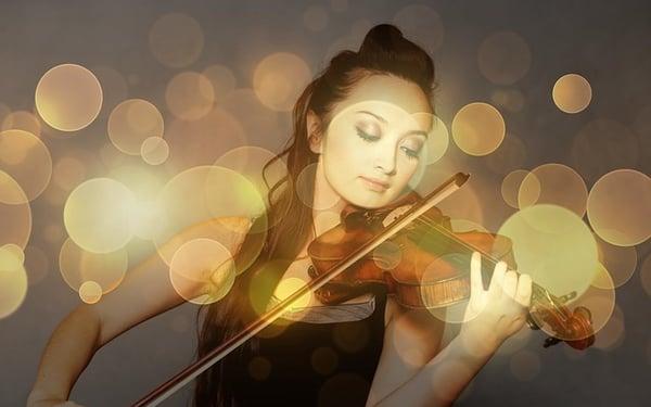 que jouer au violon