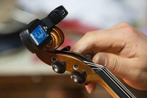 accorder un violon